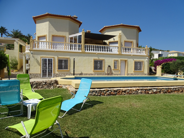 Sea View Villa in Marquesa Denia
